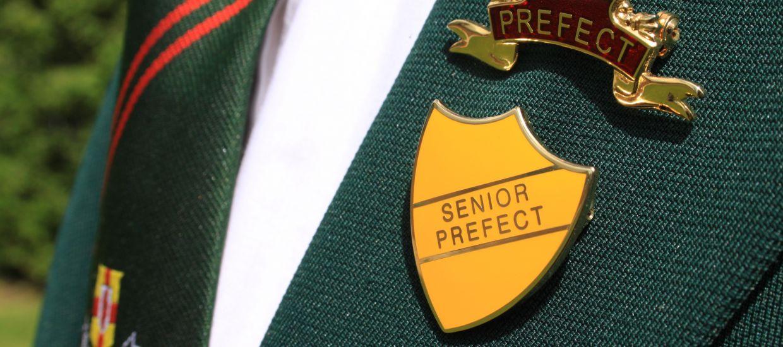 senior prefect badge